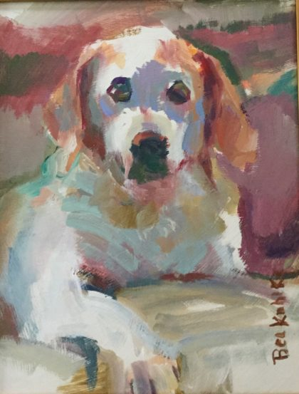 Kuhlke Dog Painting