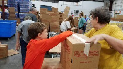 Harvest Hope Making Boxes