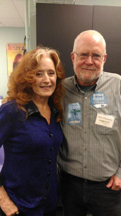 Bonnie Raitt and Tom Clements