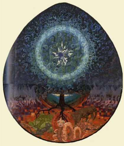 An illustration from Jung's Red Book
