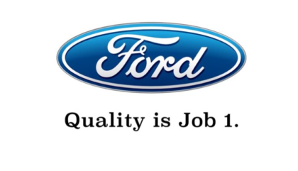 Ford:  Quality is Job 1