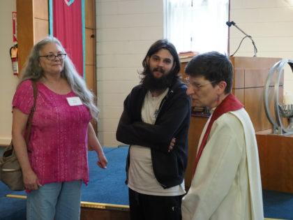 Rev. Jennie's last Sunday with us