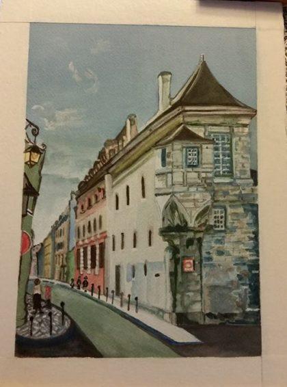 Le Marais painting