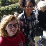 Teens serving at Food not Bombs