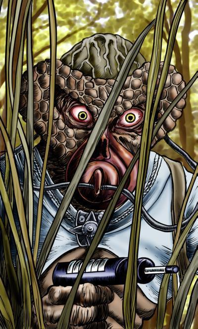 Monster artwork