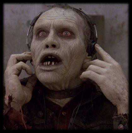 Living Dead with headphones