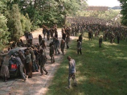 Many Walking Dead