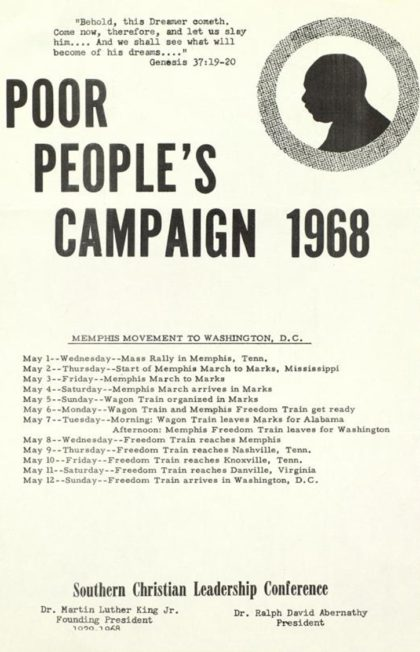 Dr. King's Poor People's Campaign