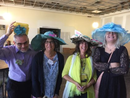 Silly Easter Bonnet Moment