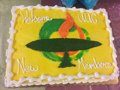 Special New Members Welcome Cake