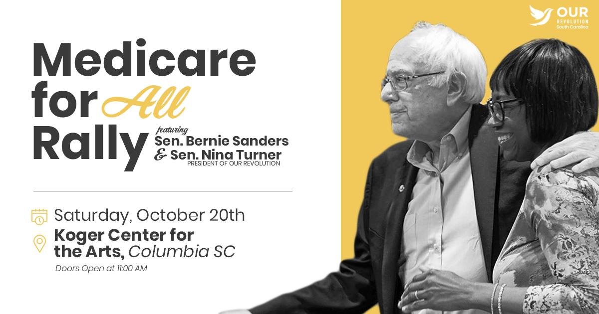 Medicare for All Rally with Sen. Sanders and Sen. Turner