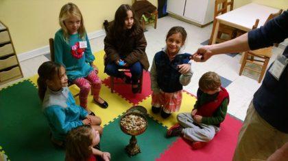children in CYRE class