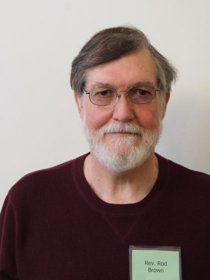 Rev. Rod Brown, president-elect
