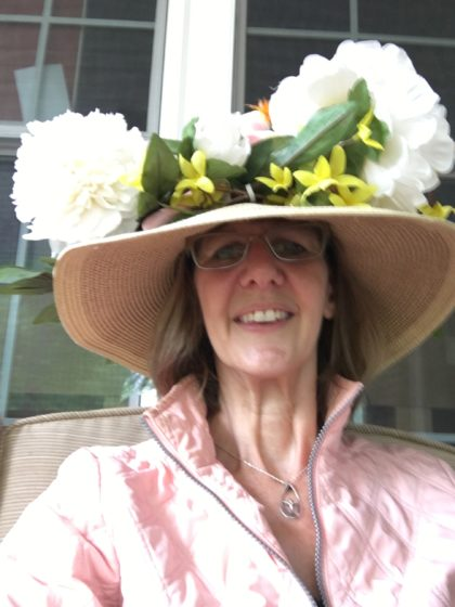 Nancie's Easter bonnet