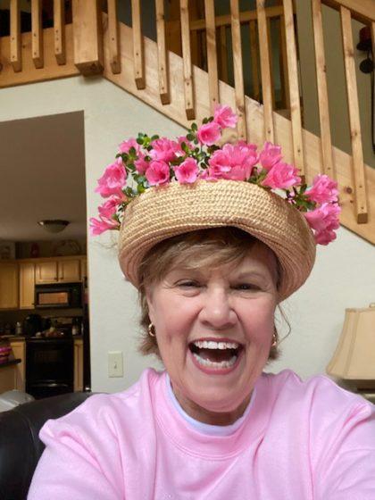 Pat's Easter Bonnet