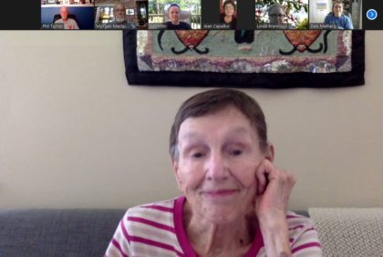 Barbara Bates-Smith Story Circle leader