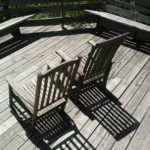 Picture of chairs at the Mountain