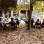 Ladies Lunch on the church grounds